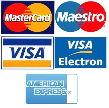 Taxi privado con pago por tarjeta de crédito o débito