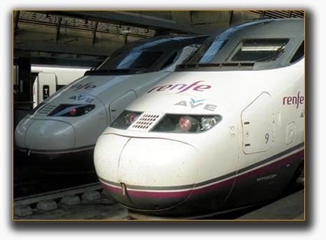 Traslados estaciones de tren Atocha y Chamartín